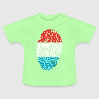 Fingerprint i love Luxembourg Luxembourg - Baby T-Shirt