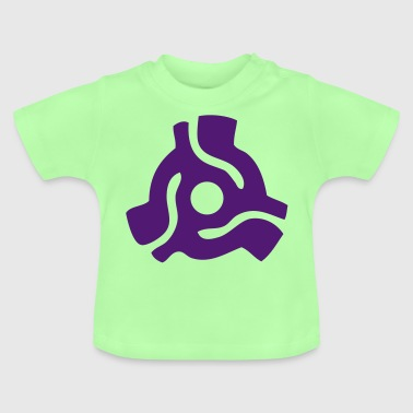 45 rpm vinyl adapter - Baby T-Shirt