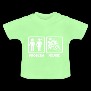 motorcycle superbike problem solution - Baby T-Shirt