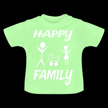 Happy family - Baby T-Shirt
