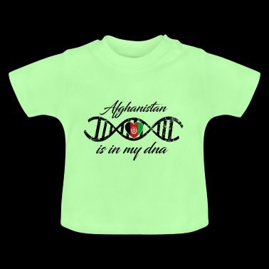 love my dns dna land country Afghanistan - Baby T-Shirt