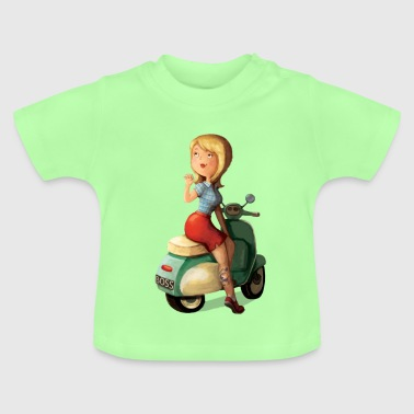 Scooter Girl T-Shirts - Baby T-Shirt