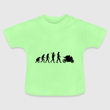 Motorcycle Superbike Evolution Gift - Baby T-Shirt