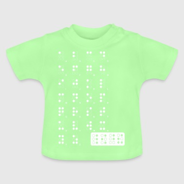 braille wite - Baby T-Shirt