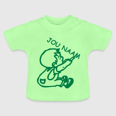 naam boy - write your name in it © - Baby T-Shirt