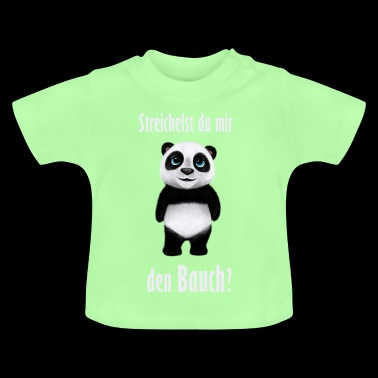 Panda belly - Baby T-Shirt
