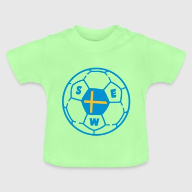 Ballon foot SWEDEN v2 - T-shirt Bébé