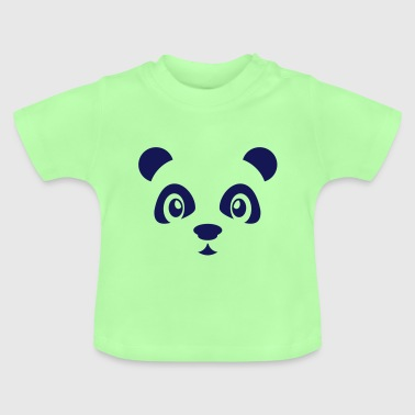 Cute panda bear - Panda bear - Zoo animal - China - Baby T-Shirt