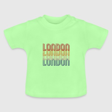 Cool London Retro 70s - Baby T-Shirt