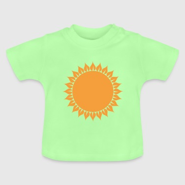 Sun Abstract eco - Baby T-Shirt