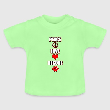 Peace love redding - Baby T-shirt