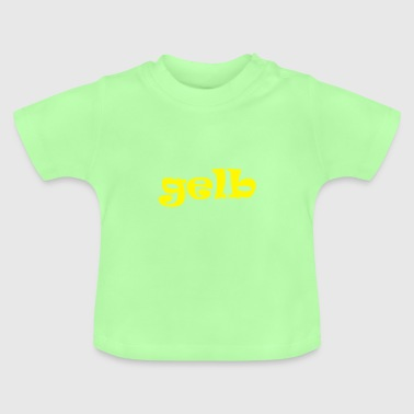 yellow yellow color - Baby T-Shirt