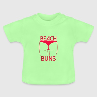 Beach butt bikini - Baby T-Shirt