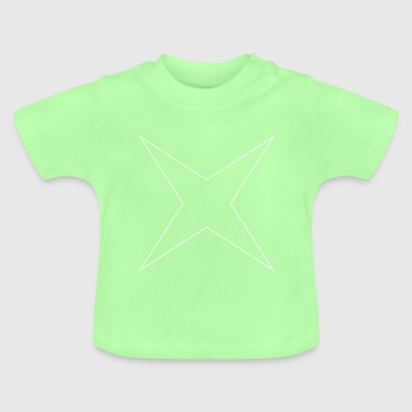 4 zackiger Stern - Baby T-Shirt