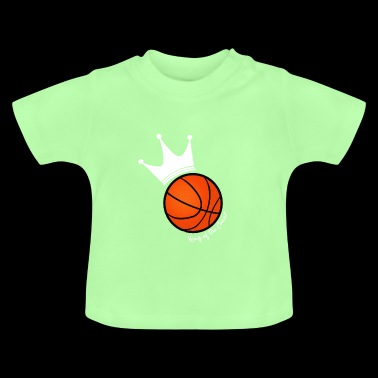 King of the court basketball - Baby T-Shirt