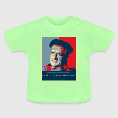 Lassalle-Obama For President - Baby T-Shirt