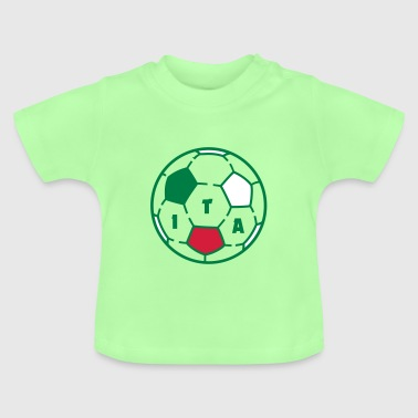 Ballon foot ITALIA - T-shirt Bébé