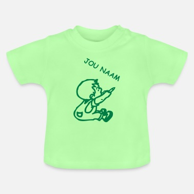 Name naam boy - write your name in it © - Baby T-Shirt
