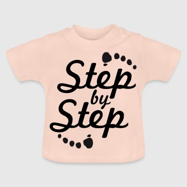 step by step 2 - Baby T-Shirt