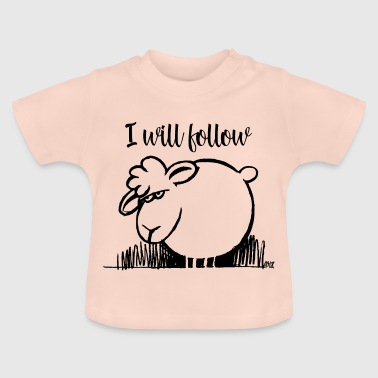 I Will Follow BLACK - Baby T-Shirt