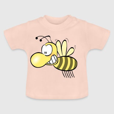 Colorful Bee Hums Sumse Honey Yellow Kids - Baby T-shirt
