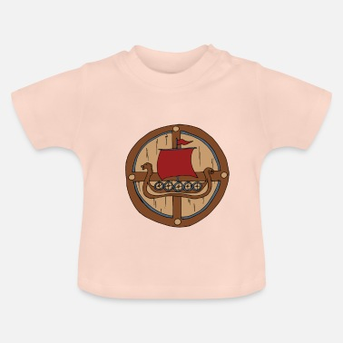 Shield Viking Shield Vikings - T-shirt Bébé