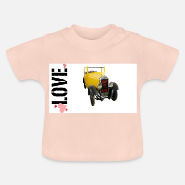 Drive Go By Car I love driving a car - Baby T-Shirt