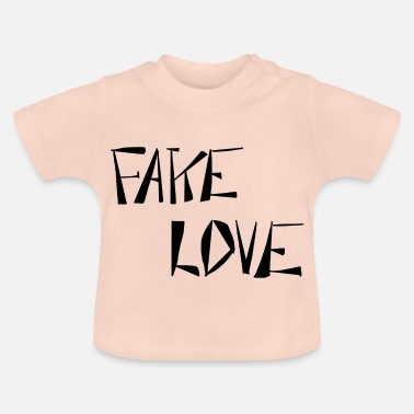 Fake FAKE LOVE - T-shirt Bébé