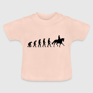 Evolution d'un cavalier de dressage - T-shirt Bébé