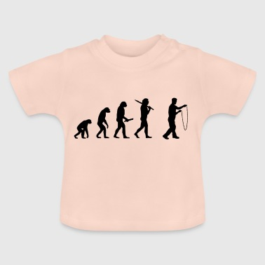 Evolution Evolution Development overslaan - Baby T-shirt