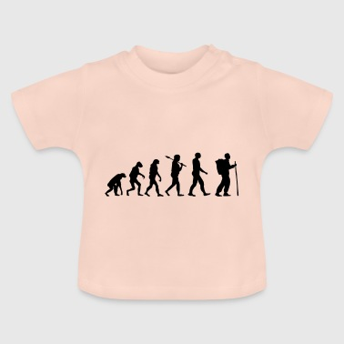 Boy Scout Evolution · Evolution · Camping · Nature - Baby T-Shirt