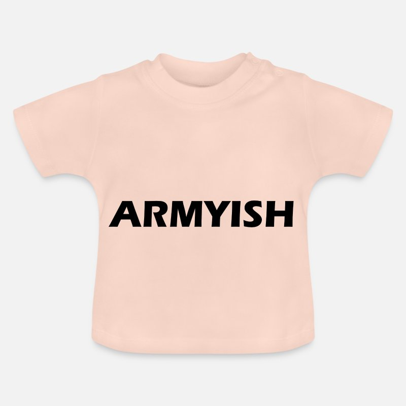 Army Baby Clothing - army - Baby T-Shirt crystal pink