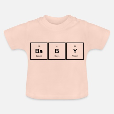 Periodisk periodisk baby - Baby-T-shirt