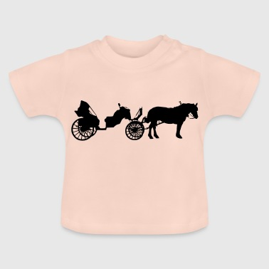 Transport med hest - Baby T-shirt