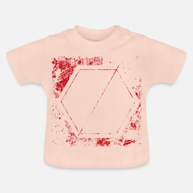 Shield stencil shield - Baby T-shirt