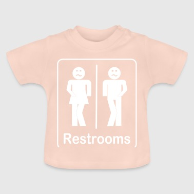 Restrooms - Toilets Shirt - Baby T-Shirt
