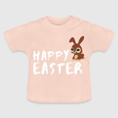 Happy easter easter bunny easter gift idea - Baby T-Shirt
