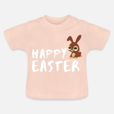 Easter Happy easter easter bunny easter gift idea - Baby T-Shirt