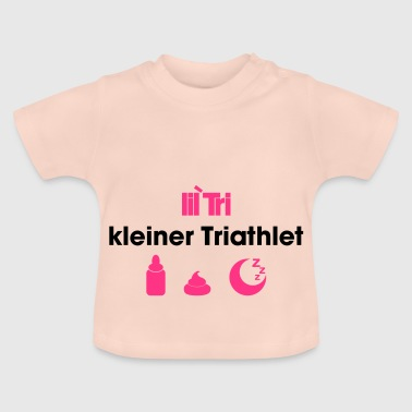 kleiner Triathlet - Baby T-Shirt