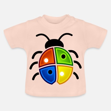 Windows windows coccinelle - T-shirt Bébé