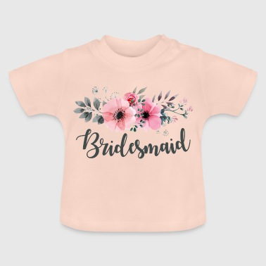Brudepike. Maid of Honour.Hen Night Gifts.Favours - Baby-T-skjorte