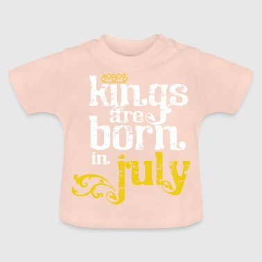 Kings July Birthday Born Gift July - Baby T-Shirt