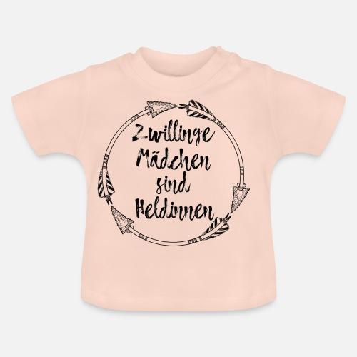Zwillinge Sternzeichen Geburtstag Madchen Geschenk Baby T Shirt
