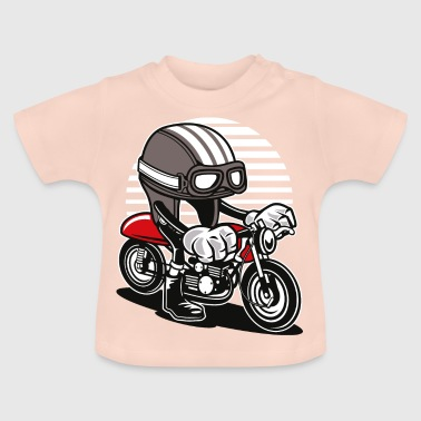 COMIC CAFERACER - Comic Cartoon Shirt Motiv - Baby T-Shirt