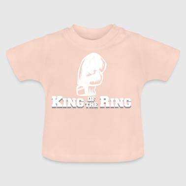 Boxer - Boxe - Champion - King - gants de boxe - T-shirt Bébé