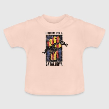 Catalonia Saying Independence Politics Gift - Baby T-Shirt