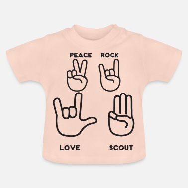 Scout, Scout, Wolfling, Rover, Gift - Baby T-Shirt