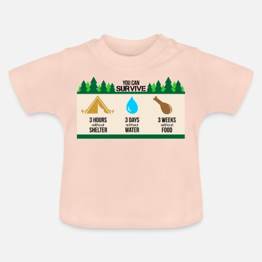 Wildlife Conservation Survival and wildlife - Baby T-Shirt