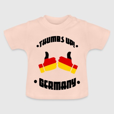 Football - Thumbs Up Allemagne - T-shirt Bébé