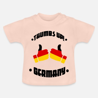 Pick Up Football - Thumbs Up Allemagne - T-shirt Bébé